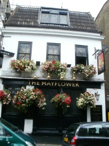 Mayflower Pub in Rotherhithe Village